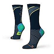 Womens Stance Fusion Run Popideau Crew Socks