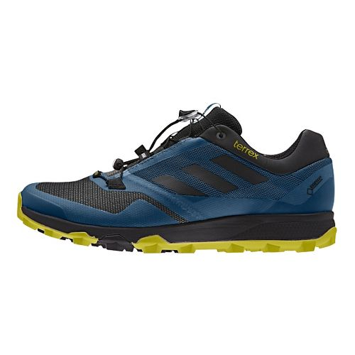 Mens adidas Terrex Trailmaker GTX Trail Running Shoe - Steel/Lime 10
