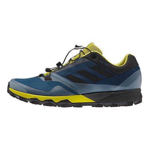 Mens adidas Terrex Trailmaker Trail Running Shoe - Steel/Lime 12