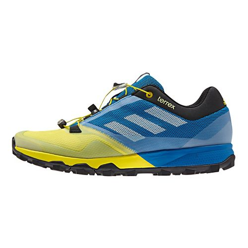 Mens adidas Terrex Trailmaker Trail Running Shoe - Blue/Yellow 12