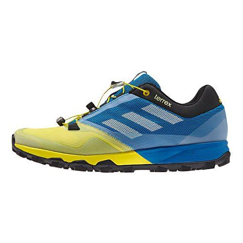 Mens adidas Terrex Trailmaker Trail Running Shoe - Blue/Yellow 8.5
