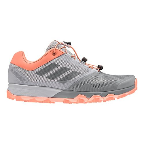 Womens adidas Terrex Trailmaker Trail Running Shoe - Grey/Coral 6
