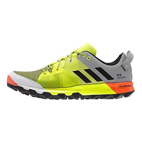 Mens adidas Kanadia 8 TR Trail Running Shoe - Yellow/Onyx 13