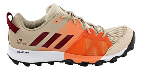 Womens adidas Kanadia 8 TR Trail Running Shoe - Tan/Orange 6