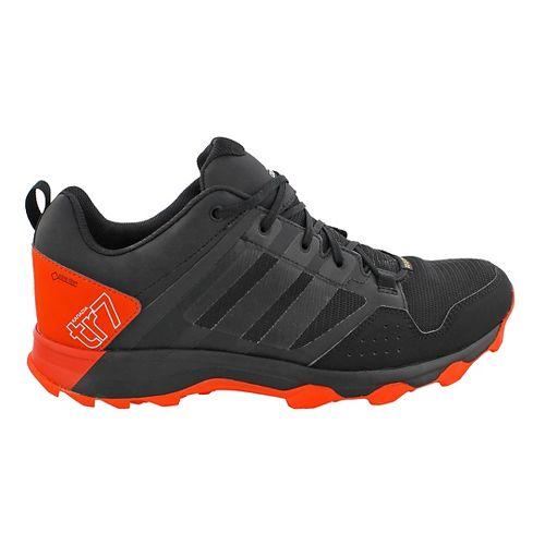 Mens adidas Kanadia 7 GTX Trail Running Shoe - Black/White 6.5