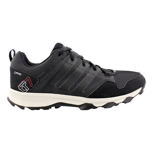 Mens adidas Kanadia 7 Trail GTX Trail Running Shoe - Grey/White 10.5