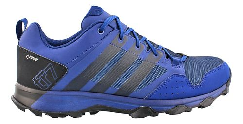 Mens adidas Kanadia 7 GTX Trail Running Shoe - Blue/Black 10