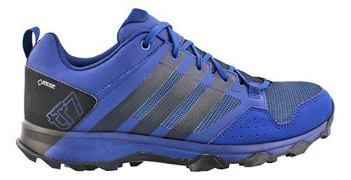 Mens adidas Kanadia 7 GTX Trail Running Shoe - Blue/Black 11