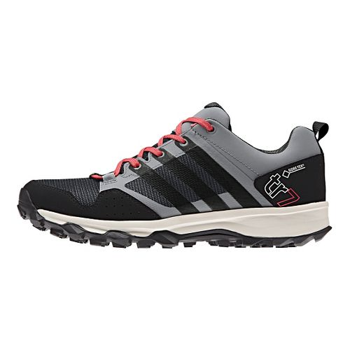 Womens adidas Kanadia 7 GTX Trail Running Shoe - Grey/Black 6.5