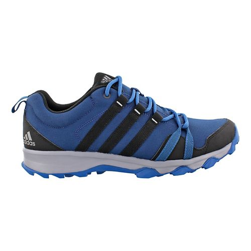 Mens adidas Tracerocker Trail Running Shoe - Blue/Black 9.5