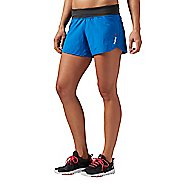 Womens Reebok One Series Woven 4 Inch Lined Shorts
