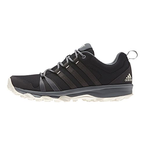 Womens adidas Tracerocker Trail Running Shoe - Black/Grey 5.5