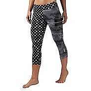 Womens Reebok One Series Camo Clash Capri Tights & Leggings Pants