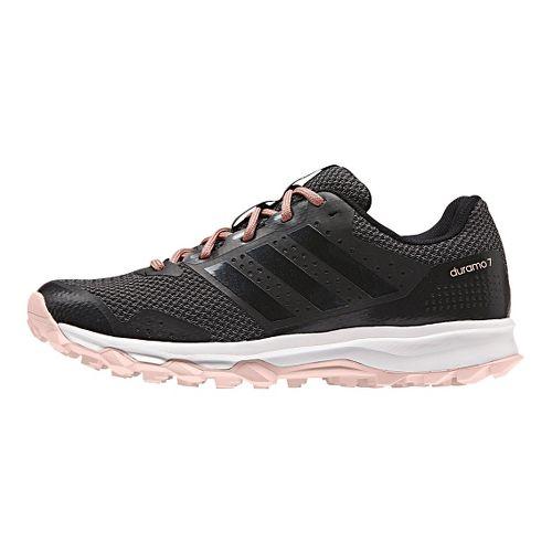 Womens adidas Duramo 7 Trail Running Shoe - Black/Pink 7