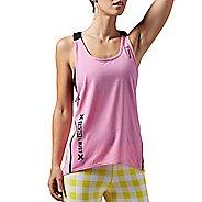 Womens Reebok One Series Quik Cotton Sleeveless & Tank Technical Tops