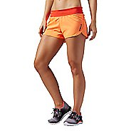 Womens Reebok One Series Woven 3 Inch Lined Shorts