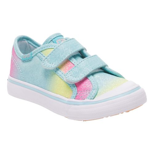 Keds Girls Glittery HL Walking Shoe - Turq Sugar Dip 6C
