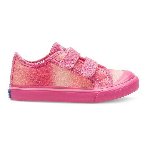 Kids Keds Glittery HL Walking Shoe - Pink Sugar Dip 6C