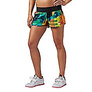 Womens Reebok CrossFit Knit Woven Short Mix Up Lined Shorts