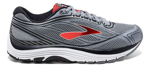 Mens Brooks Dyad 9 Running Shoe - Primer Grey/High 12