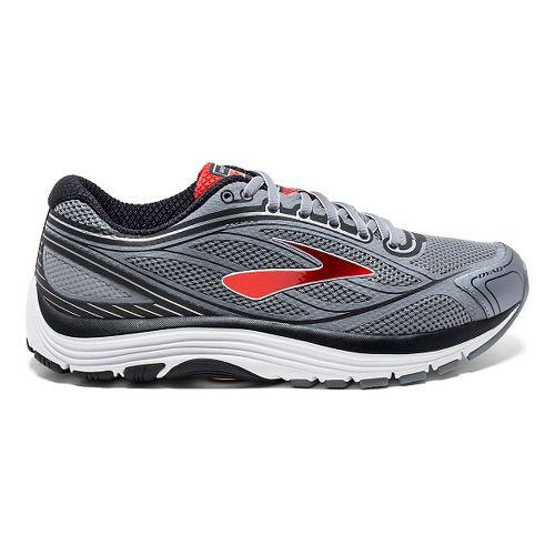 Mens Brooks Dyad 9 Running Shoe - Primer Grey/High 14