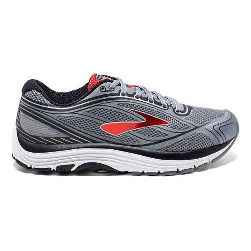 Mens Brooks Dyad 9 Running Shoe - Primer Grey/High 8