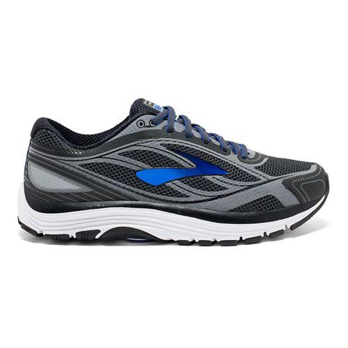 Mens Brooks Dyad 9 Running Shoe - Grey/Blue 12.5