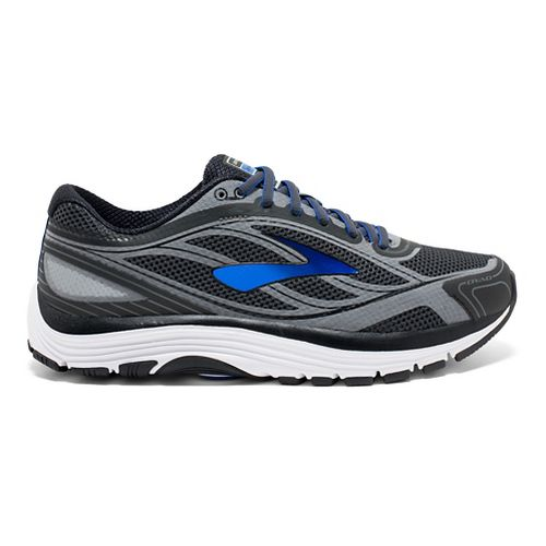 Mens Brooks Dyad 9 Running Shoe - Grey/Blue 8.5