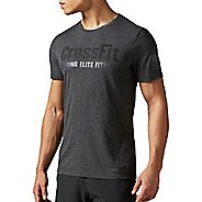 Mens Reebok CrossFit F.E.F Foil Tee Short Sleeve Technical Tops