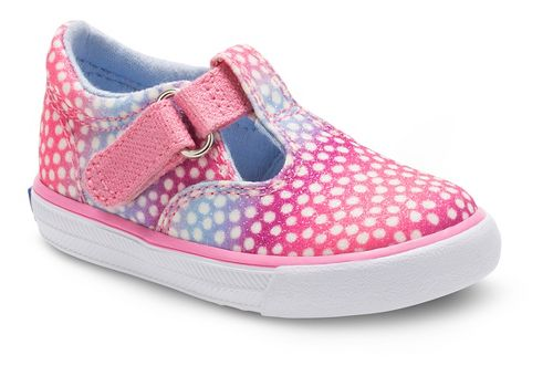Keds Daphne Sugar Dip Walking Shoe - Pink Multi Dot 10.5C
