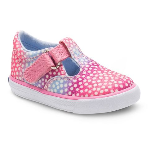 Keds Daphne Sugar Dip Walking Shoe - Pink Multi Dot 9C