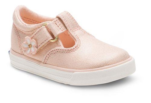 Keds Daphne Fashion Walking Shoe - Metallic Rose Gold 10C