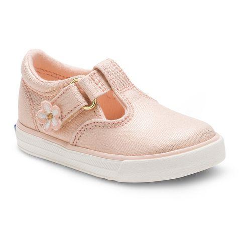 Keds Daphne Fashion Walking Shoe - Metallic Rose Gold 9C