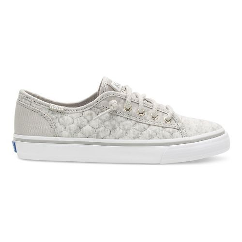 Keds Double Up Fashion Walking Shoe - Grey Quilt 10.5C