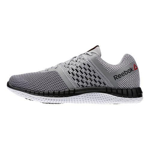 Mens Reebok ZPrint Run Running Shoe - Grey/Shark/Silver 8.5