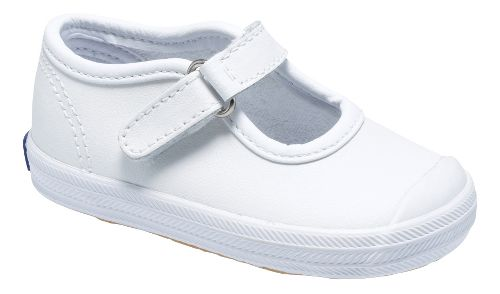 Kids Keds Champion Toe Cap MJ Classic Infant/Toddler Walking Shoe - White 5C