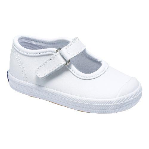 Kids Keds Champion Toe Cap MJ Classic Infant/Toddler Walking Shoe - White 2C
