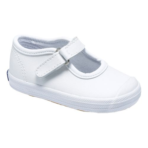 Kids Keds Champion Toe Cap MJ Classic Infant/Toddler Walking Shoe - White 4C