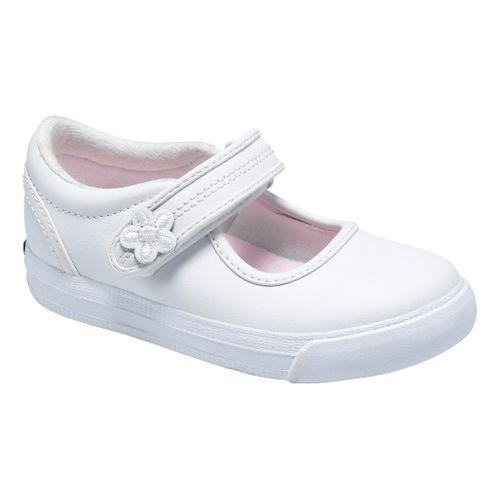 Kids Keds Ella Classic Walking Shoe - White 4C