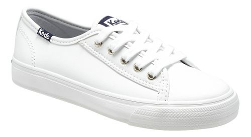 Kids Keds Double Up Classic Pre/Grade School Walking Shoe - White 13.5C