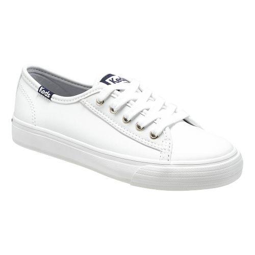 Kids Keds Double Up Classic Pre/Grade School Walking Shoe - White 1Y