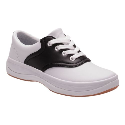 Kids Keds School Days II Walking Shoe - White/Black 1Y