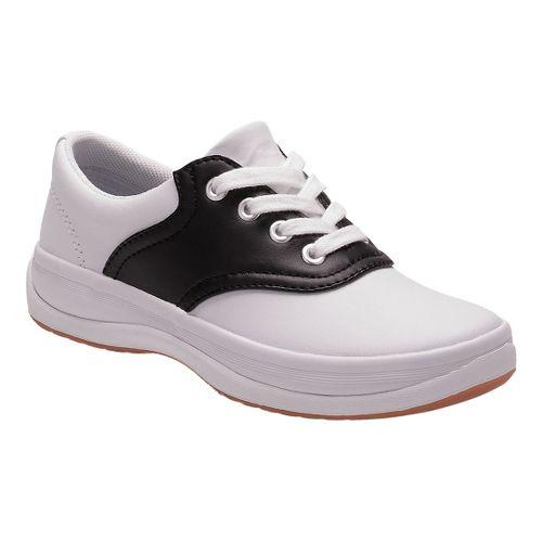 Kids Keds School Days II Walking Shoe - White/Black 2Y