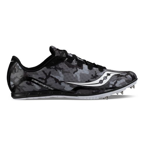 Saucony Vendetta Track and Field Shoe - Black/White 10.5