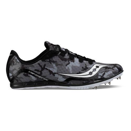 Saucony Vendetta Track and Field Shoe - Black/White 12.5