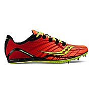 Saucony Vendetta Track and Field Shoe - Orange/Citron 13