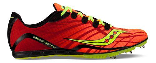 Saucony Vendetta Track and Field Shoe - Orange/Citron 10.5