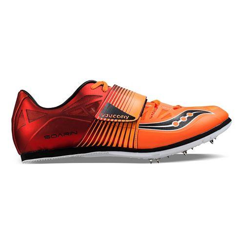 Saucony Soarin J 2 Track and Field Shoe - Red/Orange 9.5