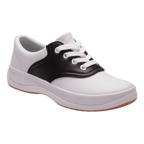 Kids Keds School Days II Walking Shoe - White/Black 8.5C
