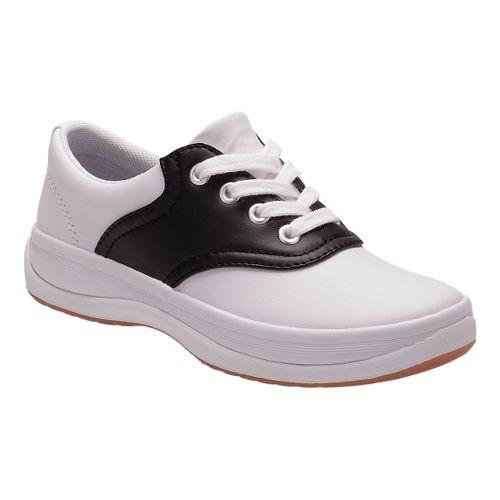 Kids Keds School Days II Walking Shoe - White/Black 9C